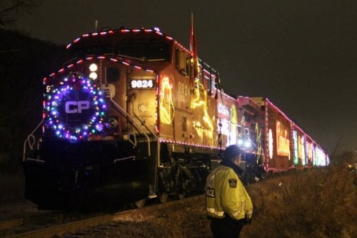 All Aboard the Christmas Train!